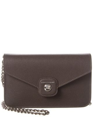 Longchamp Game On Leather Wallet On Chain