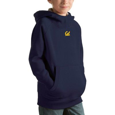 Cal Bears Antigua Youth Victory Pullover Hoodie - Navy