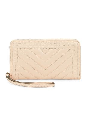 Saks Fifth Avenue Quilted Tech Wallet