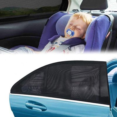 2PC Kid Toddler Infant Baby Car Window Sunscreen Rear Window UV protection covers for baby shade bloque fenetre securite
