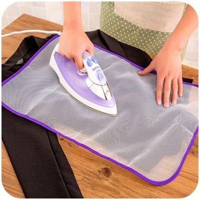 1 pcs New high temperature resistant cloth mesh ironing board pad cover protection ironing pad