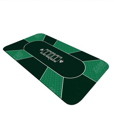 180*90cm Texas Hold'em Poker Chips Table Accessories Poker Chip Table Cloth Player Polyester Poker Cloth Poker Chips Table Cloth