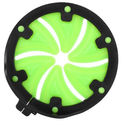 Outdoor PP Plastic Green Black Petals Triangular Universal Paintball Speed Feed Gate Lid Hoppers Cover Panitball Accessories