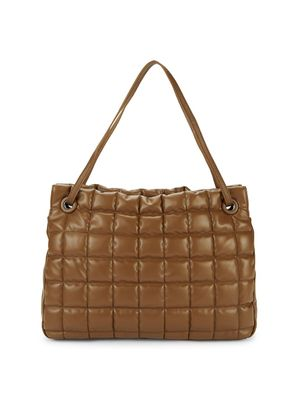 Vince Camuto Jass Quilted Leather Tote