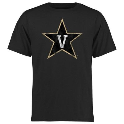 Vanderbilt Commodores Big & Tall Classic Primary T-Shirt - Black
