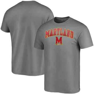 Maryland Terrapins Fanatics Branded Campus T-Shirt - Charcoal