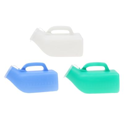 Males Urine Containers Toilet Bucket Chamber Hospital Pee Potty with Lid/Mobility & Daily Living Aids/Bedpans & Urinals - 1000ml