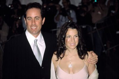 Jerry Seinfeld And Wife Jessica At Metropolitan Museum Of Art Goddess Gala, Ny 4282003, By Cj Contino Celebrity