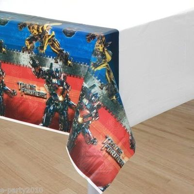 Transformers 'Dark of the Moon' Plastic Table Cover (1ct)