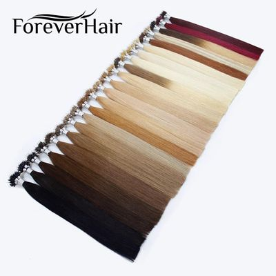 FOREVER HAIR Nano Ring Hair 100% Remy Human Hair Extensions 0.8g/s 16