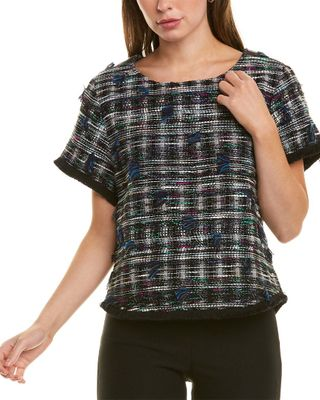 Sara Campbell Tweed Top