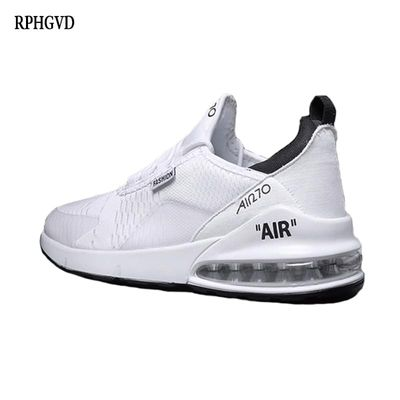 Couple Casual Sports Shoes 2018 Autumn And Winter New Men's Air Cushion Running Shoes Men And Women Casual White Shoes Sneakers