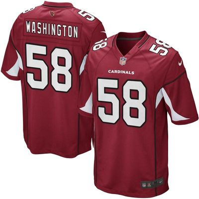 Daryl Washington Arizona Cardinals Nike Game Jersey - Cardinal
