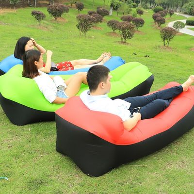 Outdoor inflatable Bean Bag Sofa Chair Cover Lounger air sofa Without Filler Lazy bag Beanbag Bed Pouf Puff Couch Camping Chair
