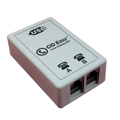 CID Easy Usb Caller Id Device (1 Port) /Android, Linux, Windows comptatible