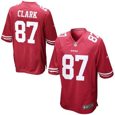San Francisco 49ers Nike Dwight Clark Retired Player Game Jersey - Cardinal