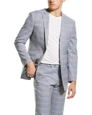 English Laundry 2pc Suit with Flat Front Pant