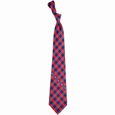 Chicago Cubs Woven Checkered Tie