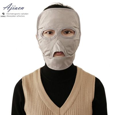 Ajiacn Recommend Electromagnetic radiation protective face mask Cell phone, computer, TV, router EMF shielding face mask