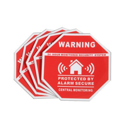 5Pcs Home House Alarm Security Stickers / Decals Signs for Windows & Doors New