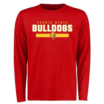 Ferris State Bulldogs Team Strong Long Sleeve T-Shirt - Red