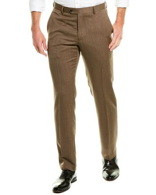 TailorByrd Flat Front Wool Pant