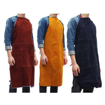New Arrival 2019 Welding Aprons Protective Welders Clothing Thermal Protection Workwear Cowhide Leather Heat Insulation 100*70CM
