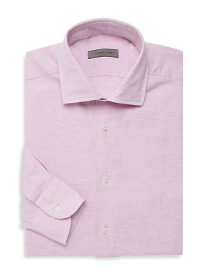 Corneliani Cotton & Linen Dress Shirt