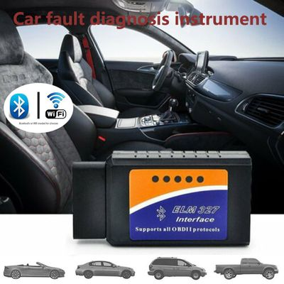 Mini ELM327 WiFi  OBD2 Car Fault Diagnosis Instrument Supports Android Apple Ios System Car Fault Diagnosis Instrument