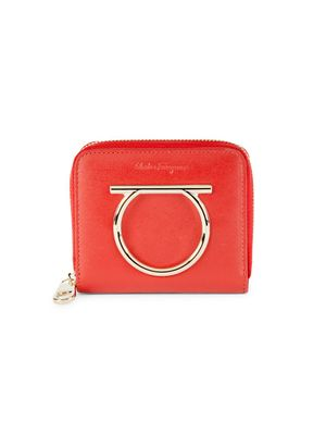 Salvatore Ferragamo Logo Leather Wallet