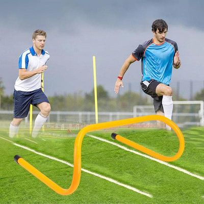 Tactical Board Football Mini Hurdle Removable Football Barrier Frame Soccer Training Barrier For Jump Running Sensitive Soccer