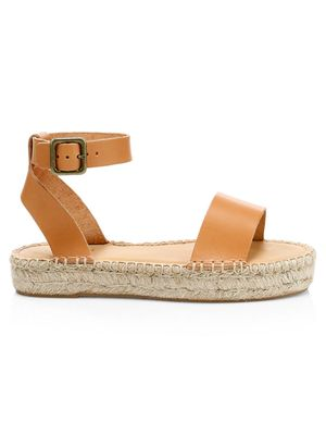 Soludos Cadiz Leather Espadrille Sandals