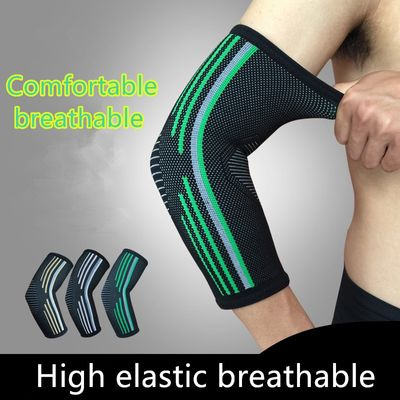 1 PCS Z1 Outdoor Sports Elbow Support Basketball Badminton Arm Sleeve Breathable Volleyball Elbow Brace Pads Arm Protector