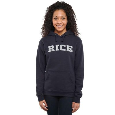 Rice Owls Women's Everyday Pullover Hoodie - Navy