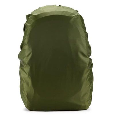 Super  Portable Nylon Waterproof 80L 100g Bag Dustproof Cover Army Green for Hiking Camping HOT for Outdoor Camping Hiking