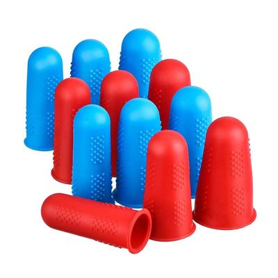 Hot Sale Silicone Fingers Cover Cap Fingertip Protector Anti-skid Heat Resistant For Kitchen Barbecue