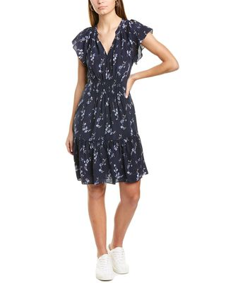 Rebecca Taylor Francine Silk Shift Dress
