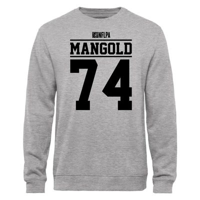 Nick Mangold NFLPA Player Issued Sweatshirt - Ash