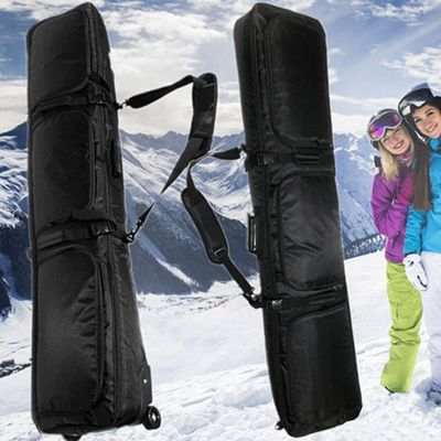 Snowboard bag double board snowboard bag shoulder bag ski shoes bag shipping ski bag helmet bag special belt pulley