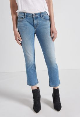 Current Elliott The Scooped Ruby Crop Jean