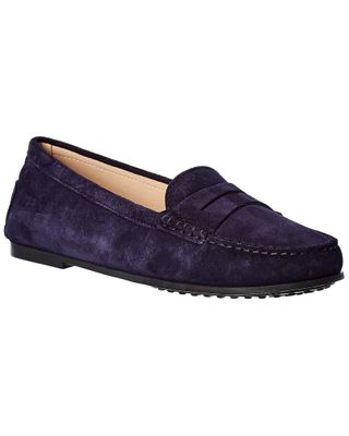 TOD's City Gommino Suede Loafer