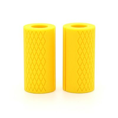 1 Pcs Dumbbell Barbell Grip Bar Pad Handles Silicone Anti-slip Protect Pull Up Weightlifting Kettlebell Fat Grips Gym Support