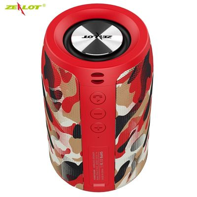 ZEALOT S32 Wireless Bluetooth Speaker Mini Portable HIFI Subwoofer Speaker with fm radio Column Support TF, TWS, USB Flash Drive