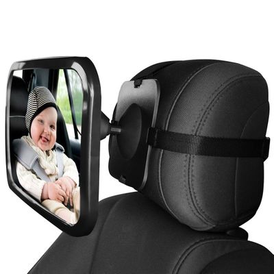 Large Anti-broken Car Rear Seat View Mirror Baby/Child Seat Car Safety Mirror Monitor Headrest High Quality Car Interior Styling