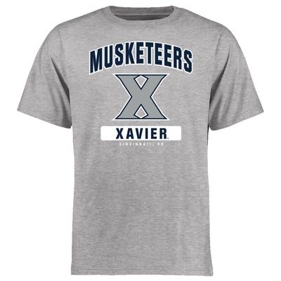 Xavier Musketeers Big & Tall Campus Icon T-Shirt - Ash