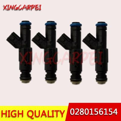 4pcs/lot 0280156154 Fuel Injector Nozzle For Ford Mondeo C-MAX Focus II Fiesta Atenza Mmazda 5 6 MVP For VOLVO C30 S40V50