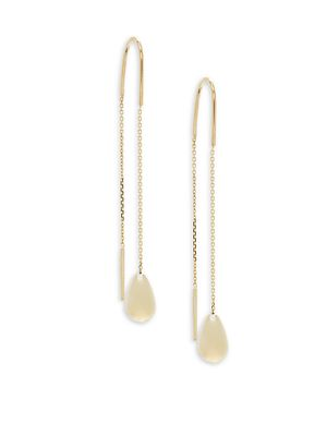 Saks Fifth Avenue Made in Italy 14K Yellow Gold Drop Earrings