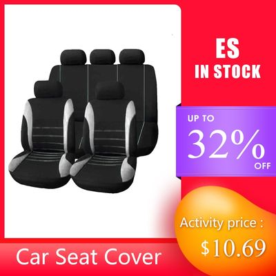 4pcs/9pcs Universal Car Seat Covers Auto Protect Cover Automotive Seat Covers for toyota lada kalina granta priora renault logan