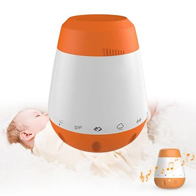 2020 new Smart Music White Noise Voice Sensor Rechargeable Baby Infants Therapy Sound Machine Sleep Soother Portable