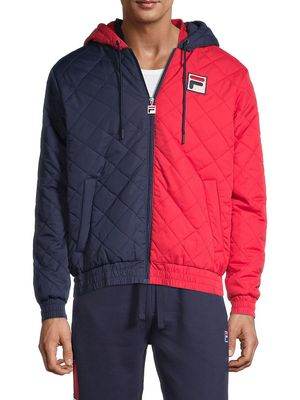 Fila Sawyer Colorblock Quilted Jacket
